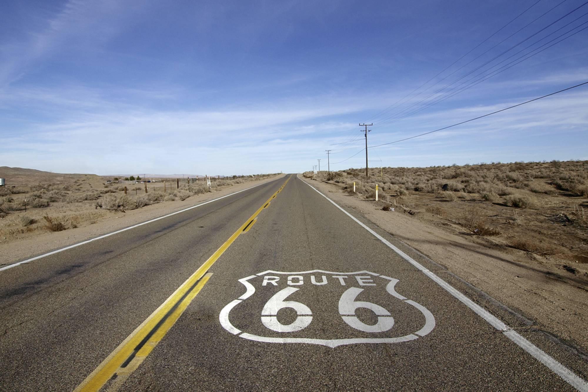 ROUTE 66 - BEZSTAROSTNÁ JAZDA (FLY & DRIVE)