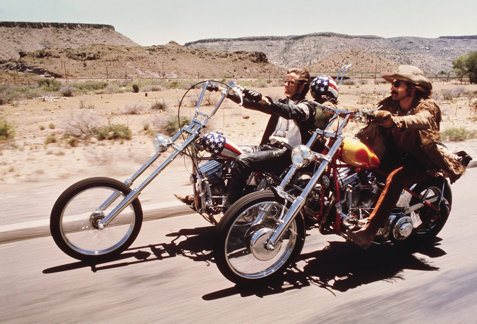 EASY RIDER MOTORCYCLE TOUR