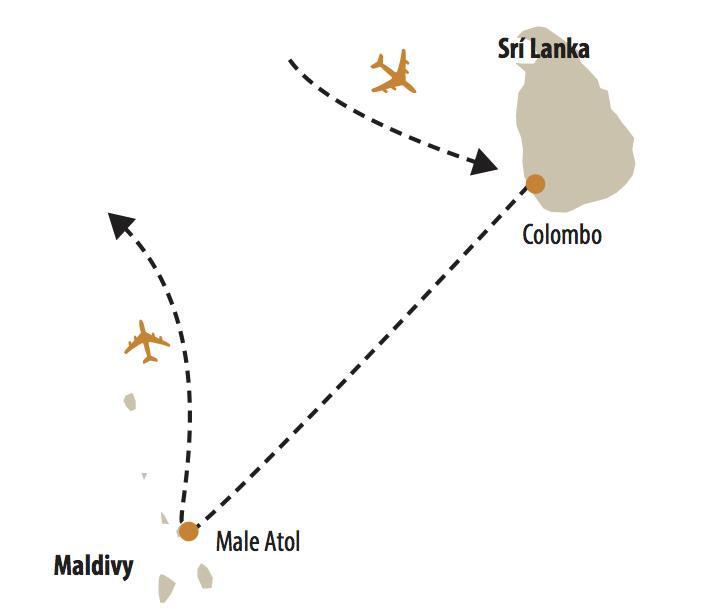 SRÍ LANKA & MALDIVY POZNÁVANIE A ODDYCH