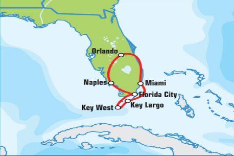 FLORIDA - SELF DRIVE PO SLNEČNOM ŠTÁTE