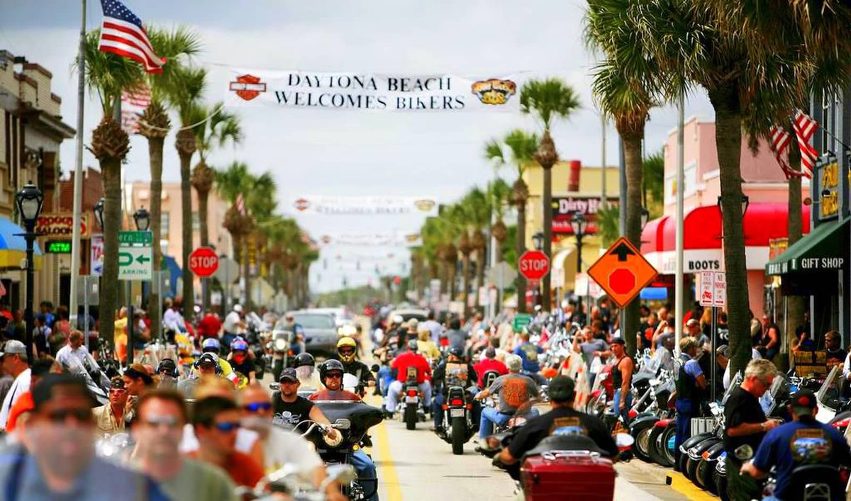 76th BIKE WEEK DAYTONA BEACH