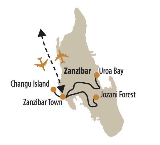 ZANZIBAR - POZNÁVANIE AFRICKÉHO RAJA
