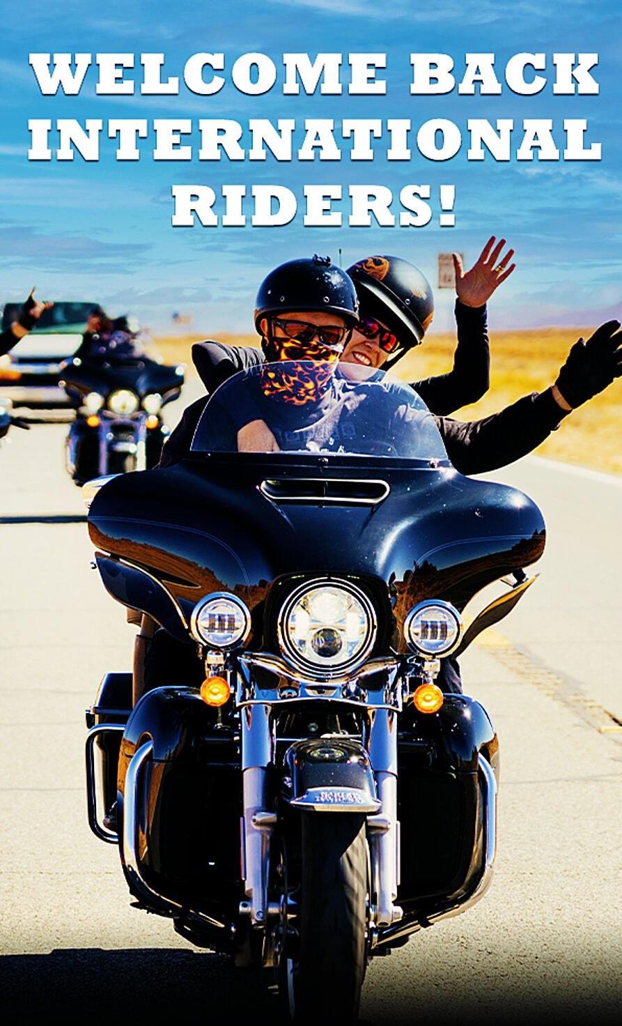 WELCOME BACK RIDERS - 8 DŇOVÝ MOTOCYKLOVÝ ZÁJAZD NEVADA - ARIZONA